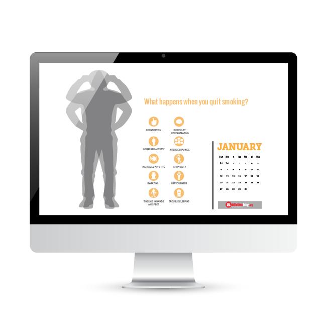 """Addiction Clinicians"" DESKTOP Calendar"