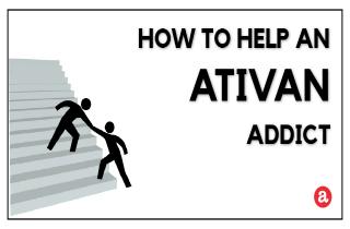 How to help an Ativan addict?