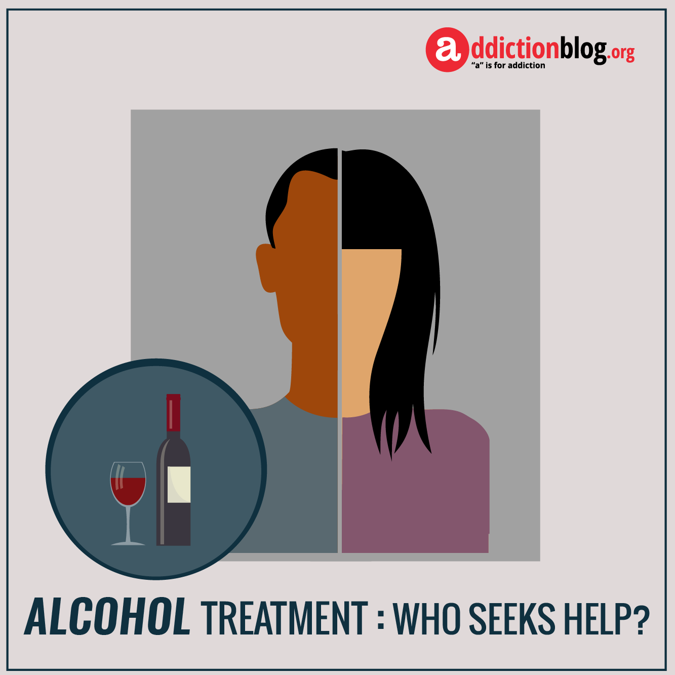 The face of alcoholism: Who drinks alcohol? (INFOGRAPHIC)