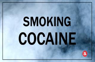 Smoking cocaine