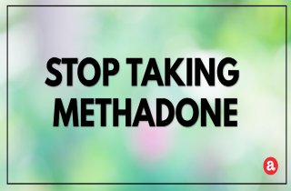 How To Stop Taking Methadone?