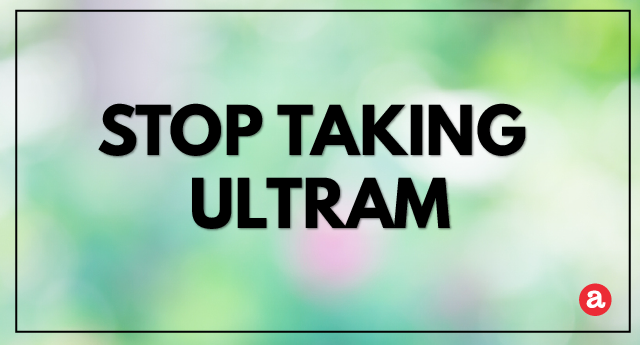 How to Stop Taking Ultram?