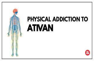 Physical addiction to Ativan