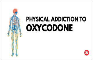 Physical addiction to oxycodone