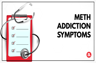 Signs and symptoms of crystal meth addiction