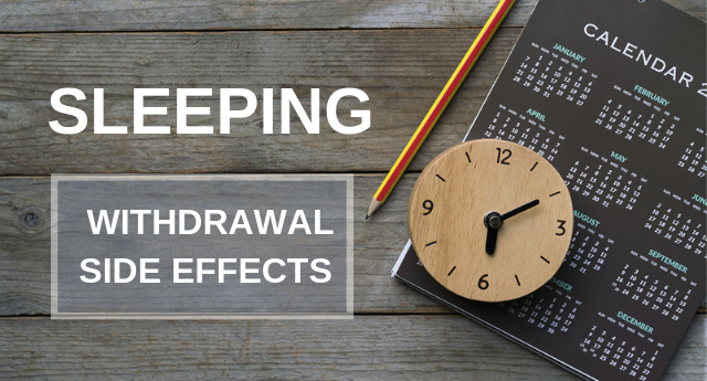 Sleeping Pill Withdrawal