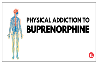 Physical addiction to buprenorphine