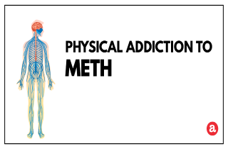 Physical addiction to meth
