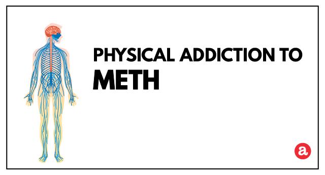 Physical addiction to meth