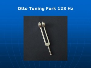 Otto tuning fork 128 hz